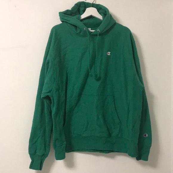 Weave Green Champion Hoodie Mens Reverse Xl LMpqUVGSz
